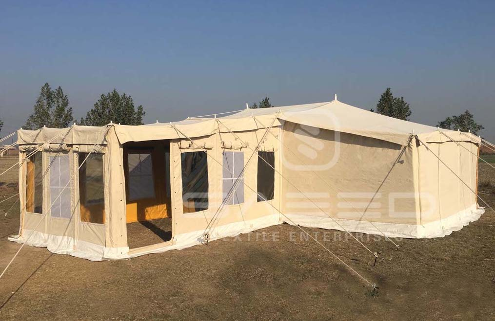 Marvelous Saeed Textile Enterprises Shelter Deluxe Tent With Home Remodeling Inspirations Genioncuboardxyz